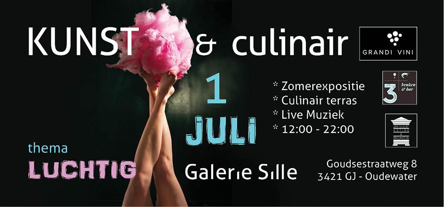 Kunst en culinair galerie Sille