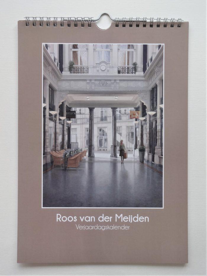 Verjaardagskalender Roos van der Meijden voorkant