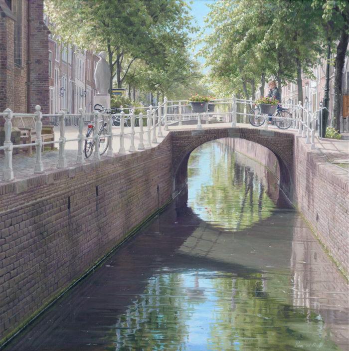 Oude Delft I - schilderijen van Delft