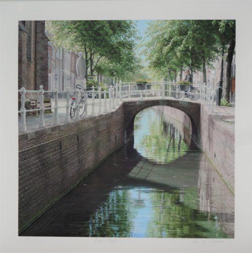 giclée Oude Delft Roos van der Meijden
