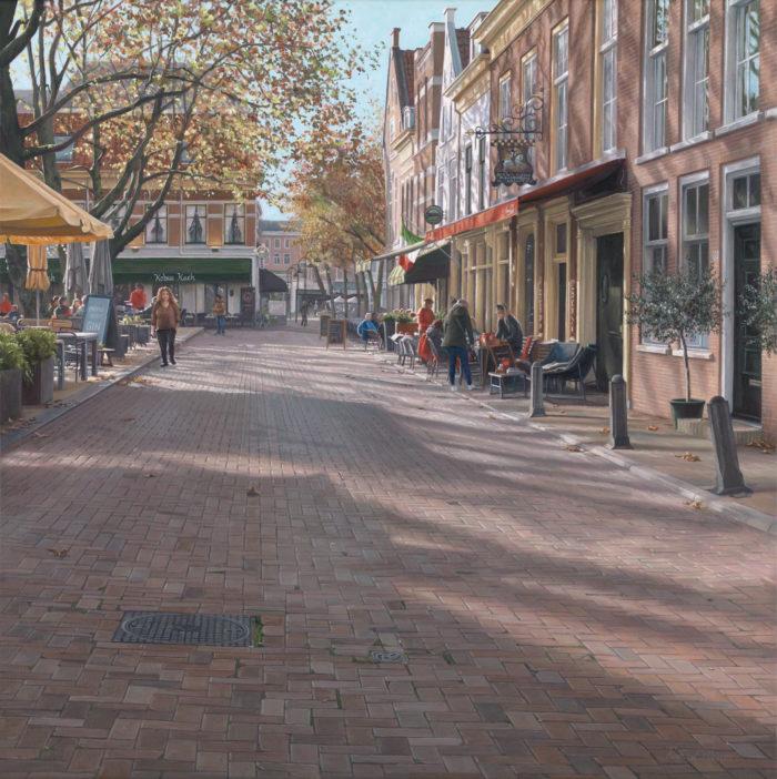 Nazomeren - schilderij van Delft