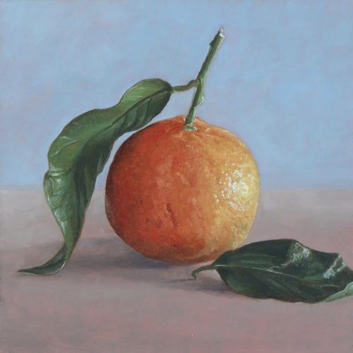 schilderij mandarijn© Roos van der Meijden