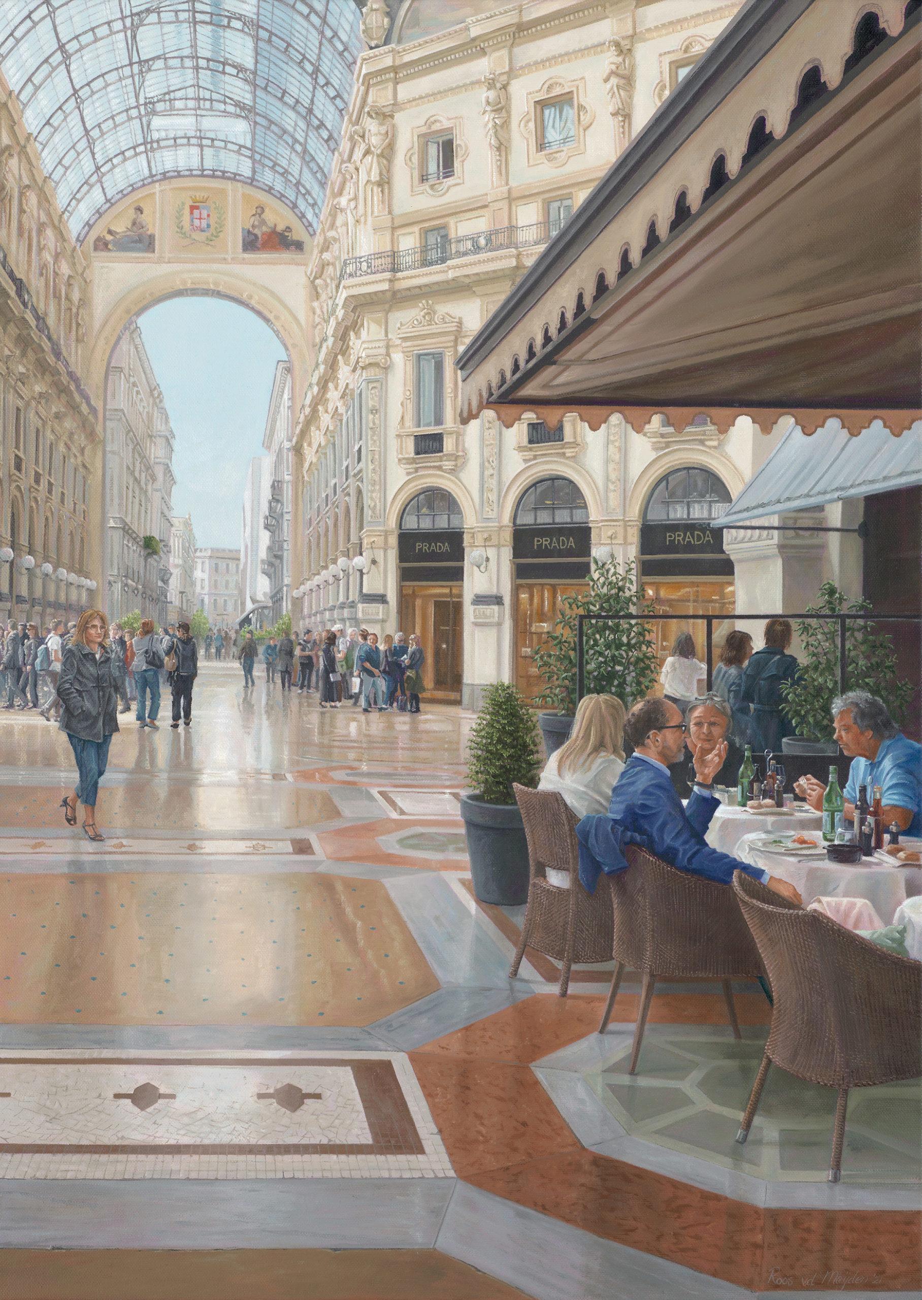 Lunch in Milaan © Roos van der Meijden